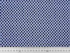 Viskose Wellen, dunkelblau hellblau weiß