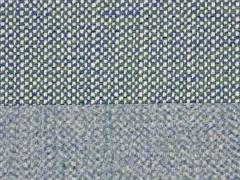 Taschenstoff Weave, grün jeansblau