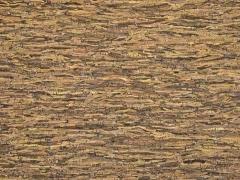 Kork Wellenmuster, schwarz braun