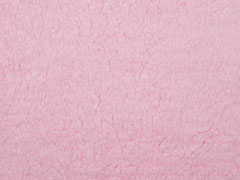 Teddyfleece, rosa