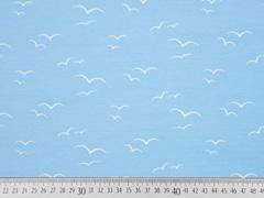 Jersey Vögel am Himmel, hellblau