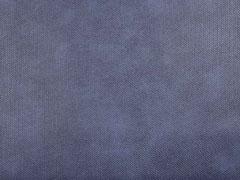 Lederimitat Noppen Filzrücken, dunkelblau