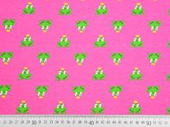 Jersey Frosch mit Krone, pink