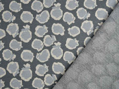 Jacquard Strick Leopardenmuster,beige creme grau