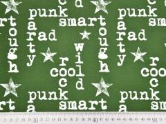 Jersey Cool Boy Words & Stars, khaki