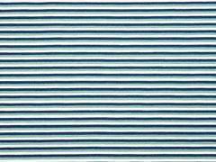 Jersey Streifen, indigoblau mattgrün