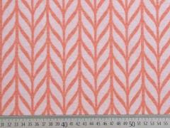 Bio-Jacquard Hamburger Liebe Maxi Knit, weiß apricot