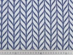 Bio-Jaquard Hamburger Liebe Maxi Knit, jeansblau