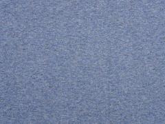 Bio-Bündchen, jeansblau meliert