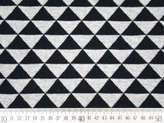 RESTSTÜCK 72 cm HHL Hipster Square schwarz grau