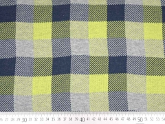 HHL Hipster Square Checker 1, dunkelblau/limone