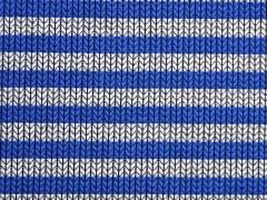 HH Liebe Knit Knit Maxi Stripes, royalblau/grau