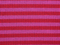 Hamburger Liebe Knit Knit Maxi Stripes, rosa rot