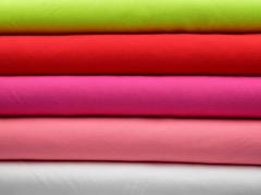 Piqué T-Shirt Stoff Baumwolle uni, türkis