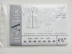 1051 Kleid/Weste Schnittmuster its A fits