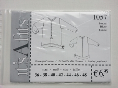 1057 Blusen Schnittmuster its A fits