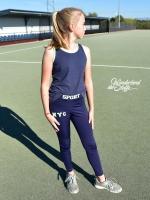 Scuba Sports, neongrün dunkelblau