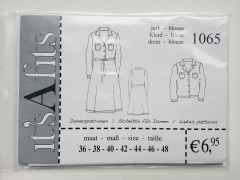 1065 Damenkleid Schnittmuster its A fits
