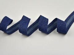 Schrägband Jeans Uno, dunkelblau
