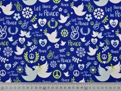 Jersey Tauben Friedenszeichen Lycklig Design, dunkelblau