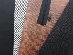 Baumwollstoff uni, schwarz