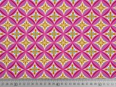 Jersey Zirkelblumen Hamburger Liebe, pink
