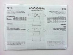 Papierschnittmuster Jerseykleid Abacadabra  113