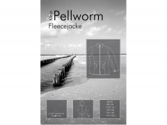 Schnittmuster Fleecejacke klein Pellworm Farbenmix