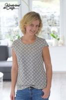 Schnittmuster Volant Bluse Lillesol Woman No35