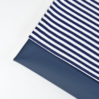 Regenmantelstoff uni, dunkelblau