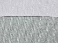 RESTSTÜCK 23 cm Taschenstoff ROM Canvas strapazierfähig, silbergrau