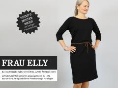 Schnittmuster Damenkleid m. Gürtel Frau Elly Studio Schnittreif