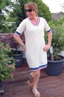 Schnittmuster Pullover V-Ausschnitt Vicky Damen Fadenkäfer