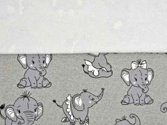 Sweat Elefanten Magic UV-Licht Farbeffekt, grau melange