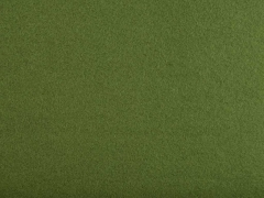 Baumwollfleece uni, Army Grün