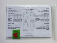 165 Kinder Kleider, Schnittmuster Abacadabra