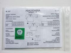 Papierschnittmuster Kinder Bluse & Shorts Abacadabra 167