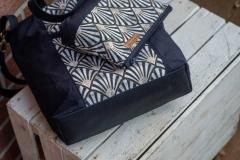 Gurtband Baumwolle 2,5 cm breit, dunkelblau