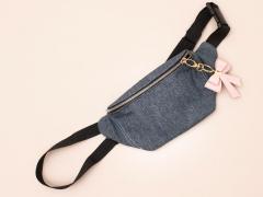 Jeansstoff Baumwolle ohne Stretch meliert, dunkelblau