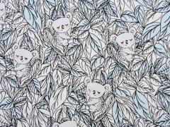 Jersey Magic Koalabären UV-Licht Farbeffekt, weiß