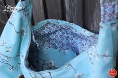 Gurtband Baumwolle 4 cm breit, dunkelbraun #56