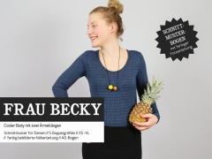 Frau Becky Body für Damen Schnittmuster