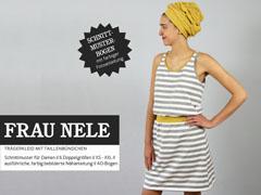 Frau Nele Trägerkleid Schnittmuster