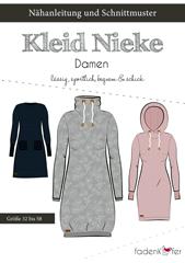 Schnittmuster Kleid Nieke Damen Fadenkäfer