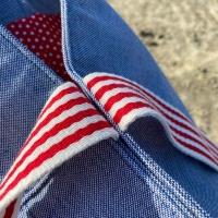 Outdoorstoff Dralon®  Teflon Uni, jeansblau