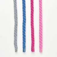 gedrehte Kordel dick 8 mm, Beere (dunkles pink)