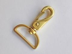 Taschenkarabiner 25 mm, gold