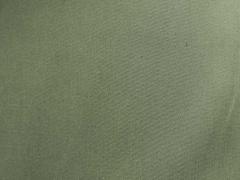Baumwoll Twill Trenchcoat Stoff Stretch, moosgrün