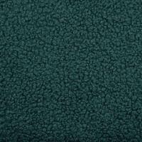 Boucle Stoff Lammfell Optik, dunkelgrün