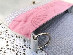 Drehverschluss für Taschen, silberfarbig